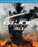 G.I. Joe: Retaliation: Blu-ray 3D + Blu-ray + DVD + Digital Copy combo pack cover art - click to buy from Amazon.com