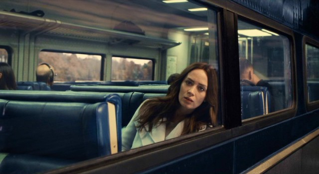 "As Rachel Watson, Emily Blunt plays the titular character in ""The Girl on the Train."""