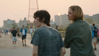 Out of nowhere, Shae (Danielle Panabaker) goes to Coney Island with nice classmate Tyler (Liam Aiken).