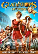 Gladiators of Rome (2014) DVD cover art -- click to buy from Amazon.com