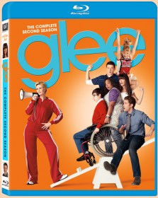 Glee: The Complete Second Season Blu-ray cover art