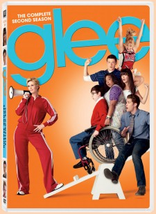 Glee: The Complete Second Season DVD cover art