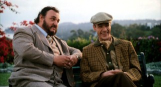 Fellowship-extending art professor Luther (John Rhys-Davies) has Dennis (French Stewart) laughing now, but he'll soon be crying.