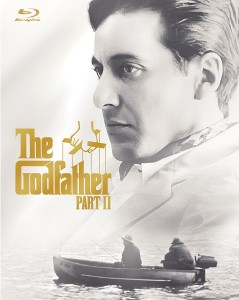 The Godfather Part II Blu-ray cover art