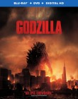 Godzilla (2014) Blu-ray Combo Pack -- click to read the press release