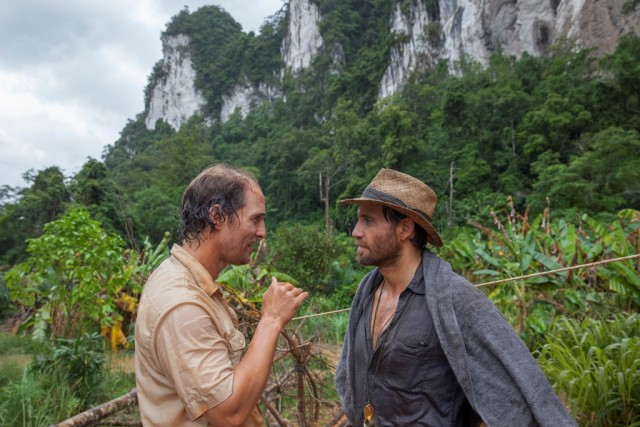 "In ""Gold"", prospector Kenny Wells (Matthew McConaughey) and geologist Michael Acosta (Edgar Ramirez) go digging for gold in the wilds of Indonesia."