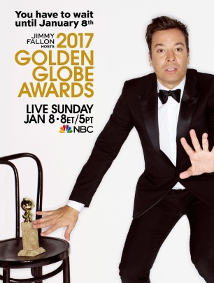 Hold on to your globes... he's back. Ricky Gervais hosts the 2016 Golden Globe Awards -- official poster