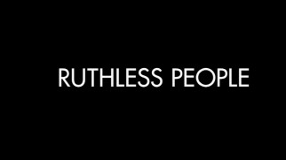 "It's no wonder the trailer's list of people phrases doesn't stop here. There's already a ""Ruthless People"", yo!"