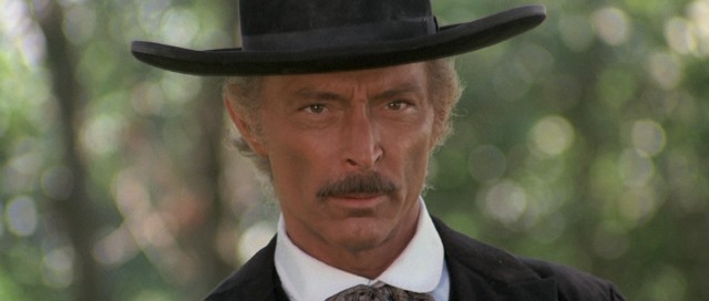 """The Grand Duel"" (a.k.a. ""The Big Showdown"") stars Lee Van Cleef as Clayton, a seasoned sheriff looking out for an innocent man accused of murder."