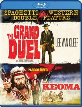 The Grand Duel (1972) & Keoma (1976): Spaghetti Western Double Feature Blu-ray Disc cover art -- click for larger view and to buy from Amazon.com