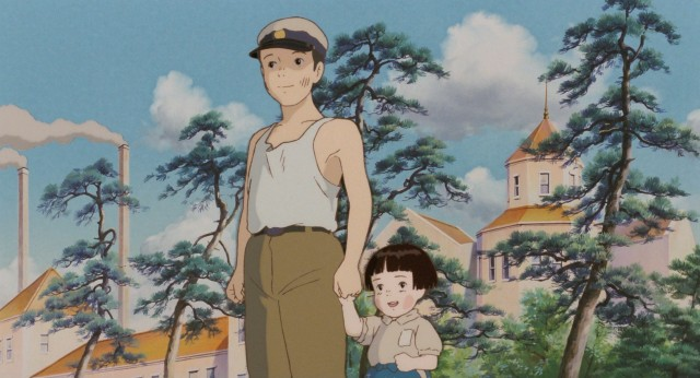 Orphaned survivors Seita and Setsuko try to make the best out of their bleak situation with a day at the beach.
