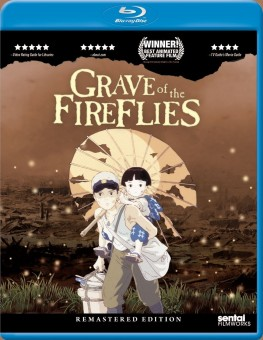 Grave of the Fireflies Blu-ray cover art -- click to buy from Amazon.com