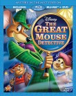 The Great Mouse Detective Mystery in the Mist Edition Blu-ray + DVD cover art -- click for larger view