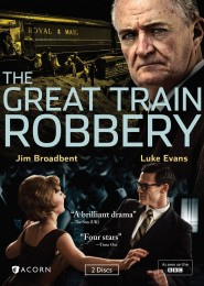 The Great Train Robbery (2013 miniseries) DVD cover art -- click to buy from Amazon.com