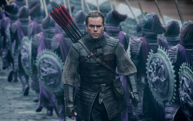 "In ""The Great Wall"", Matt Damon plays William Garin, the white knight who just might save China from ferocious monsters."