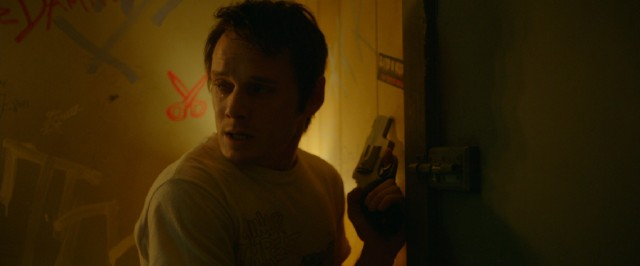"In ""Green Room"", one of his final films, Anton Yelchin plays a punk band member who gets trapped in an unpleasant situation by white supremacists."