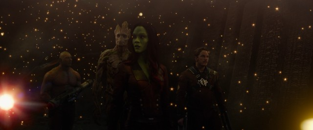 Where there is darkness, Groot provides light for the Guardians of the Galaxy.