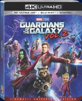 Guardians of the Galaxy Vol. 2 4K Ultra HD + Blu-ray + Digital HD cover art -- click to buy from Amazon.com