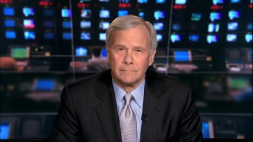 From his colorful workplace, news anchor Tom Brokaw discusses the film that cost him his movie theater job.