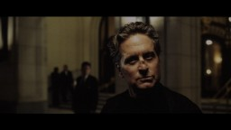 Nicholas (Michael Douglas) considers a cab ride in this short alternate ending.