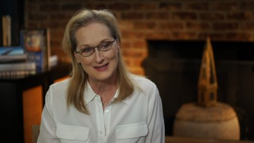 "Meryl Streep confesses wanting to work with Jeff Bridges in ""'The Giver': From Page to Screen."""