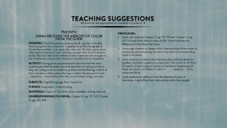 Teachers get four lesson plans using clips from the movie to tie in with the book.