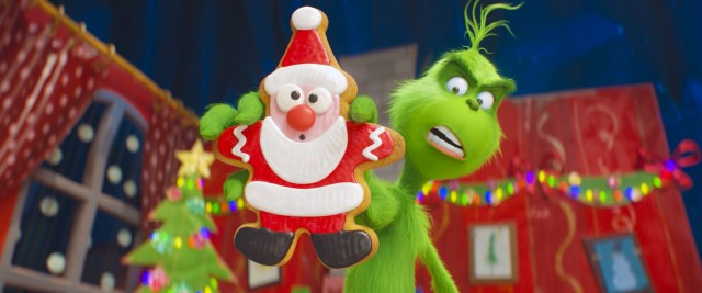 Benedict Cumberbatch voices The Grinch in Illumination Entertainment's new computer animated adaptation of the classic Dr. Seuss tale.