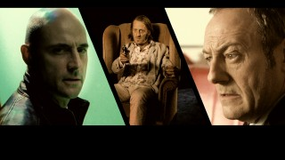 The bad guys (Mark Strong, David Wilmot, and Liam Cunningham) share the screen in the Blu-ray's menu montage.