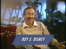 Roy Disney in 'The Making of The Great Mouse Detective'