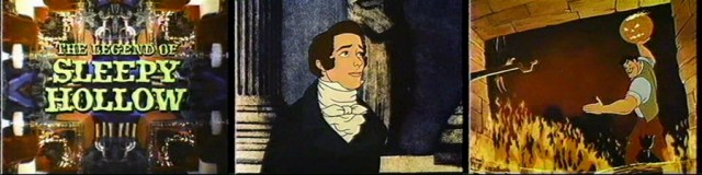 """The Legend of Sleepy Hollow"" supplements the Ichabod half of Disney's 1949 feature ""The Adventures of Ichabod and Mr. Toad"" with an animated biography of author Washington Irving."