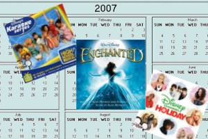 Our final article on Disney's 2007 CDs provides a Year in Review plus coverage of the Enchanted soundtrack, Disney's Karaoke Series: High School Musical 2, Disney Channel Holiday, and other albums.