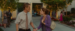 Maggie (Jenna Fischer) scolds Rick (Owen Wilson) for checking out another woman, the act that starts the longtime couple on the path to a hall pass.
