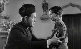 Distraught Catholic boy Michael O'Malley (Philip Needs) consults his parish priest Father Timothy (John Gregson), setting up a friendship movie to be told in flashback.
