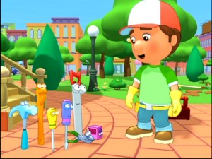 "Manny and the tools get all Carl Spacklery whilst planning their ambitious gopher-catching strategy in ""Gopher Help."""