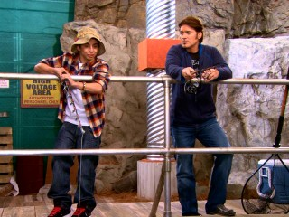 "Post-pubescent Rico (Moises Arias) goes fishing with Robby Ray (Billy Ray Cyrus) in one of Season 4's ""comedic"" storylines."