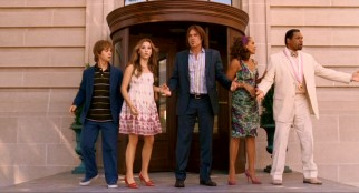 "It wouldn't be ""Hannah Montana"" without a wacky lobster dinner bringing out five people (Jason Earles, Emily Osment, Billy Ray Cyrus, Vanessa Williams, Beau Billingslea) in search of the missing teen pop star."