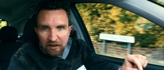 """Enraha!"" is repeatedly exclaimed by driving instructor Scott (Eddie Marsan), as a way to remind Poppy to check her rearview mirror."