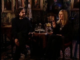 "Director Alfonso Cuaron and author Jo ""J.K."" Rowling display mutual respect in their joint interview of ""Creating the Vision."""