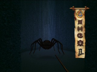 What spell do you cast on a giant spider? Act fast or die in the Maze Challenge.