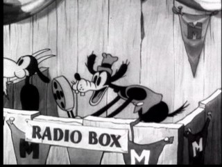 "Goofy's radio play-by-play in ""Touchdown Mickey"" is edited to look like he's singing with Freddie Mercury on Queen's ""Another One Bites the Dust"" in this Re-Micks video."