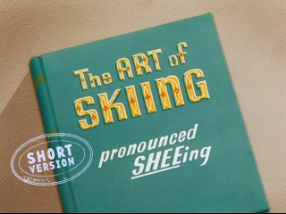 "The title card for the 2009 ""Have a Laugh"" update of ""The Art of Skiing (pronounced SHEEing)"" designates it the ""Short Version"" to distinguish it from Walt Disney's unbearably long 7-minute, 53-second cut of the, uh, short."