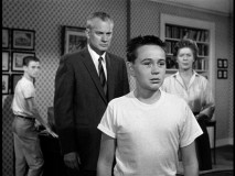 Fenton makes Tommy Kirk cry, while being sure to face forward for the cameras.
