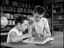READ! The Hardy Boys visit the public library to expand their minds. So should you!