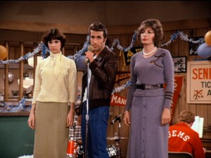 Image result for happy days laverne and shirley