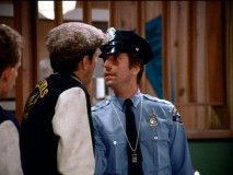 That's Officer Fonzarelli to you!