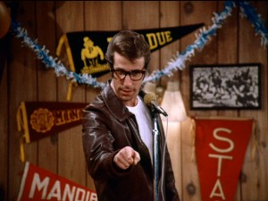 Fonzie says, 'Be cool -- wear glasses.'