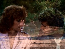 Fonzie and Pinky Tuscadero (Roz Kelly) are both bikers and lovers, as this montage dissolve illustrates.