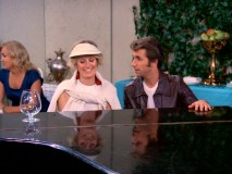 Fonzie and latest love interest (Diana Hyland) follow up their country club tennis match with a piano duet.