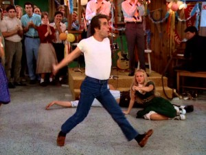 Fonzie can't skate, but he sure can dance. Right into America's hearts. On ABC.