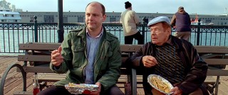 Eddie's best friend (Rob Corddry) and father (Jerry Stiller) may not give the best advice, but they do provide the film with humor.